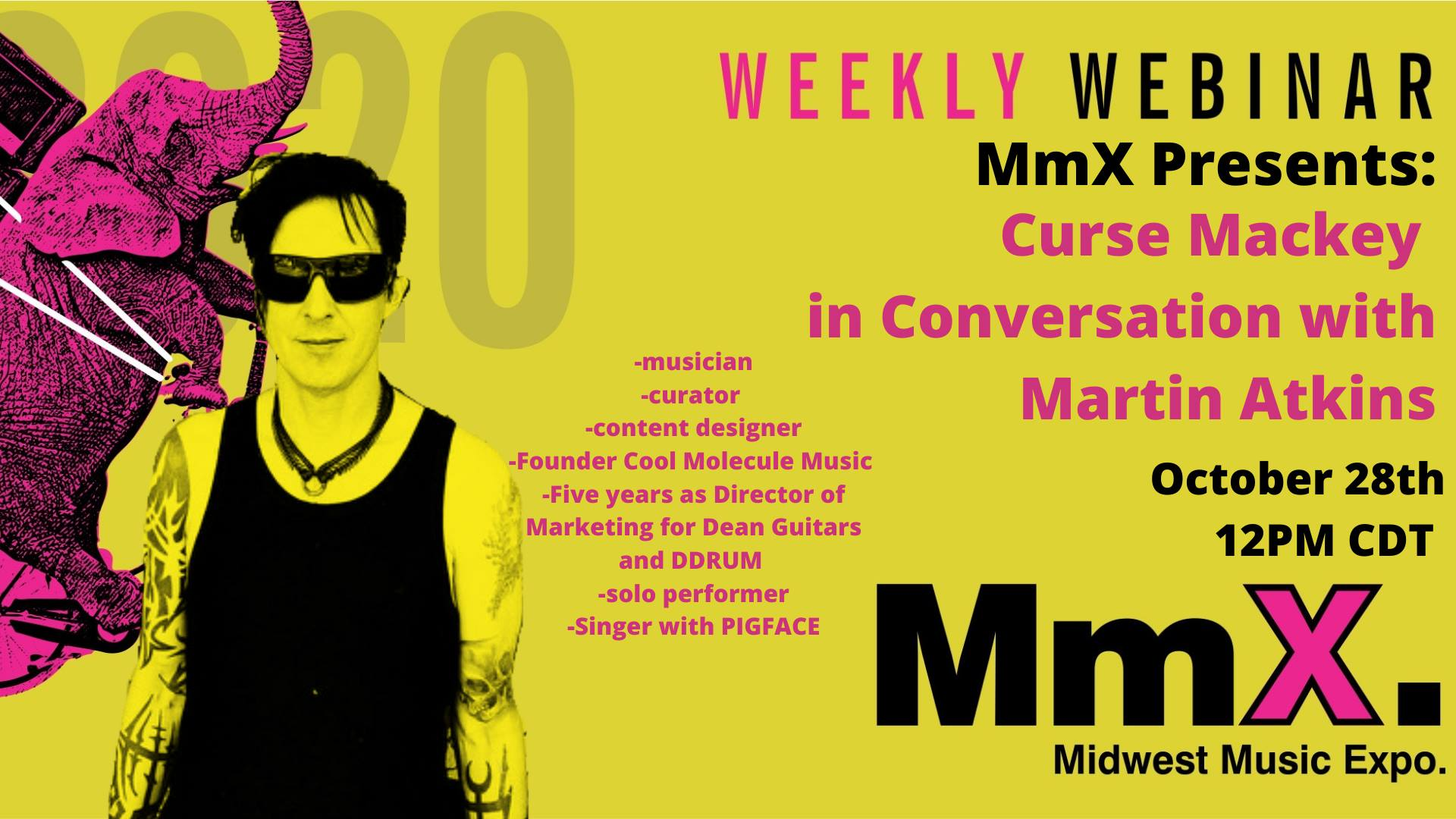 MMX Weekly: Curse Mackey in Conversation with Martin Atkins
